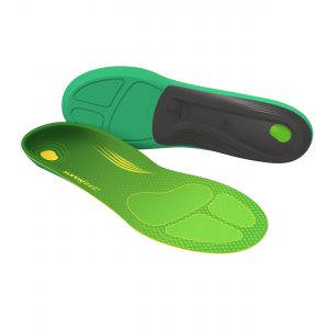 Engineered specifically for running, these insoles deliver  maximum comfort while helping you minimise foot fatigue. The Superfeet shape, delivered via a responsive EVOLyte™ carbon fibre cap and Aerospring™ Rebound dual comfort foam, encourages smooth and efficient energy transfer throughout your gait, from foot strike to toe-off.  The result? Exceptional comfort under your feet; extra kilometres added to your training log.