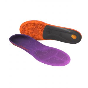 Designed for the dimensions and contours of a woman's foot, Superfeet® TRAILBLAZER Comfort Women's insoles stabilise your feet on uneven ground.  The Superfeet shape securely supports your foot in the boot, minimising fatigue and reducing shifting that can lead to hot spots and blisters.  Shock absorbing Aerospring™ Ascent dual comfort foam enhances comfort even on the roughest terrain.