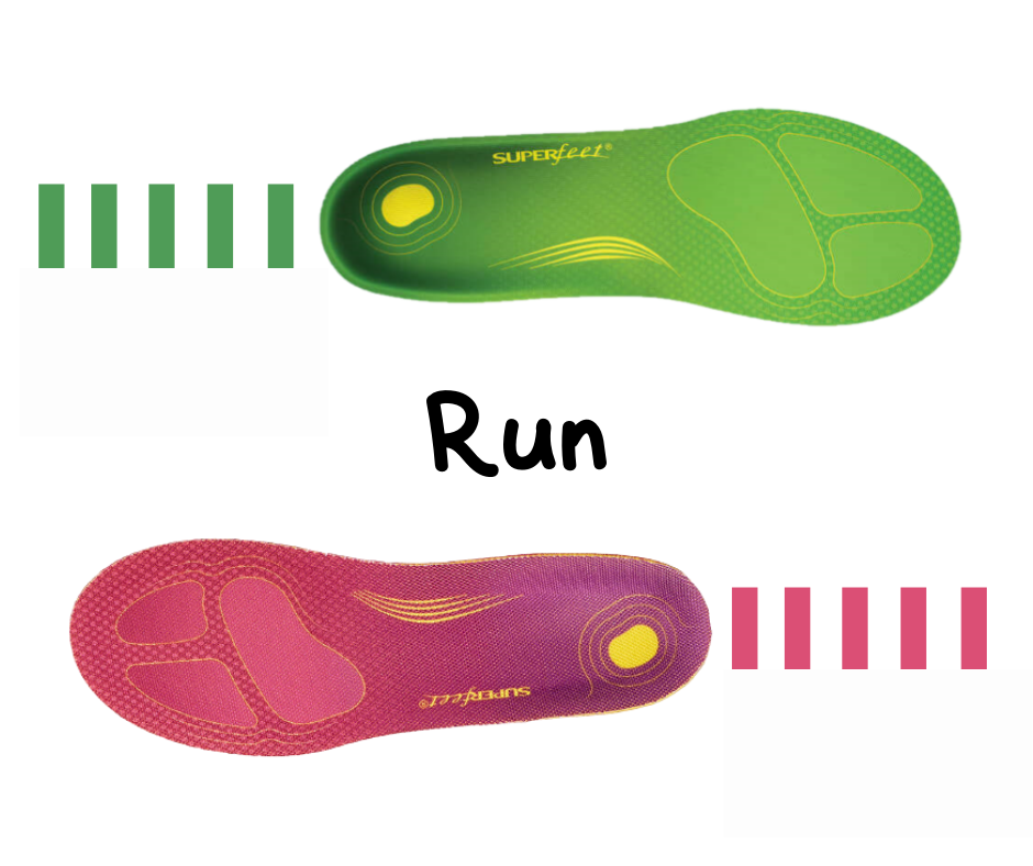 Superfeet run specific insoles - run in comfort every time