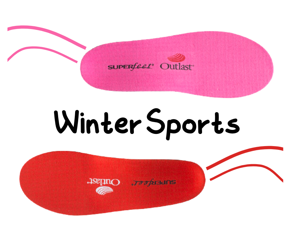 Superfeet insoles specific for winter sports and cold weather