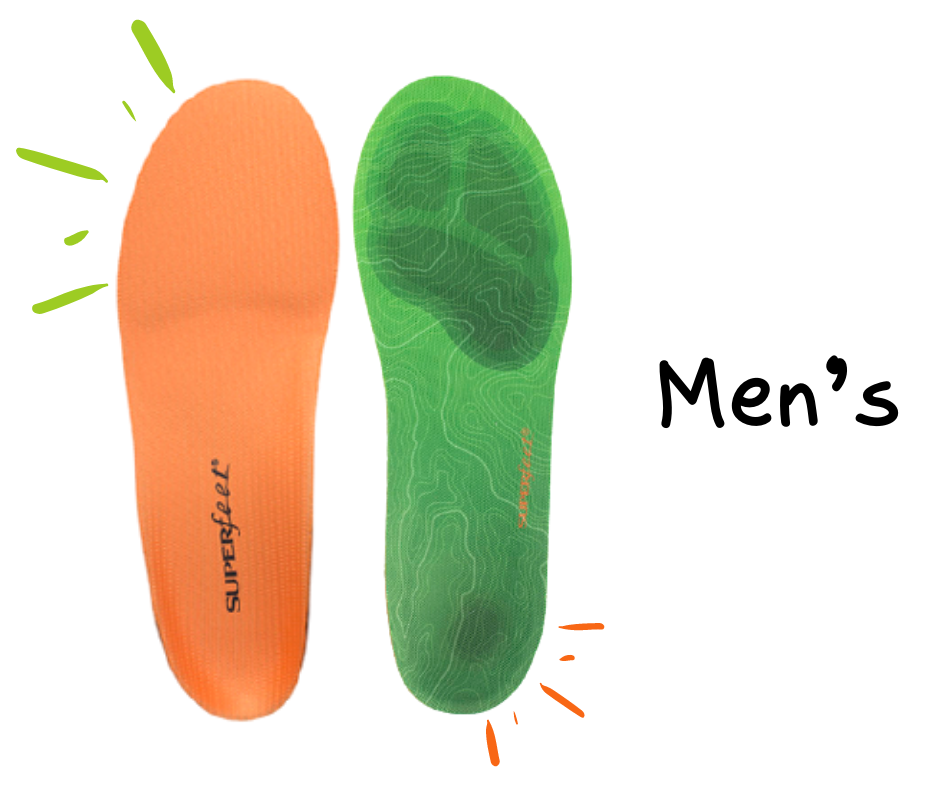 Superfeet for Men for every activity